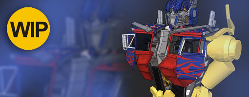 WIP: Optimus Prime Part 2D