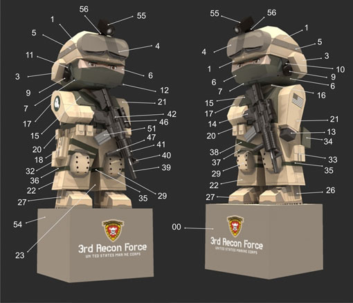 USMC 3rd Recon Force