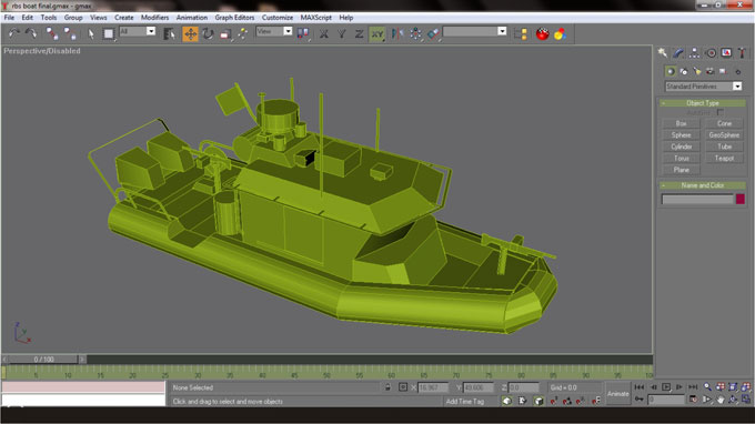 3d modeling for paper model tutorial doesnt have any compatible software were going to use a max script to convert our 3d boat into obj file which is one of pepakura known format malvernweather Choice Image