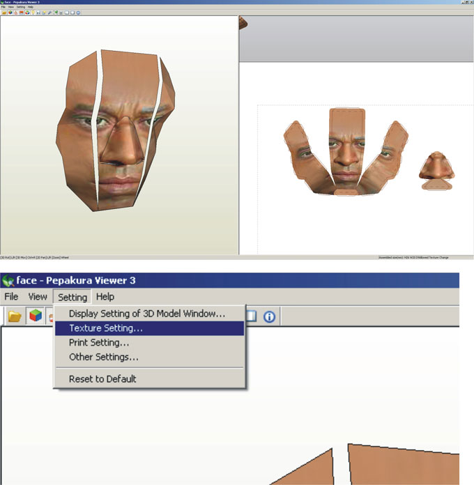 How To Replace Face Texture On Your War Machine Paper Model